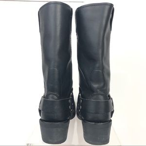 Harley-Davidson Shoes - Harley Davidson Harness Pull on Motorcycle Boot